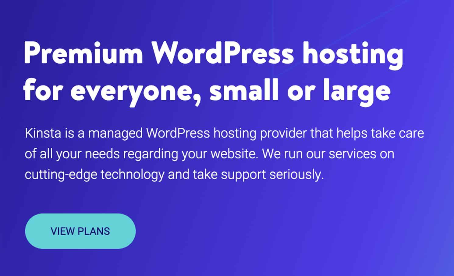 Kinsta, Premium WordPress Hosting