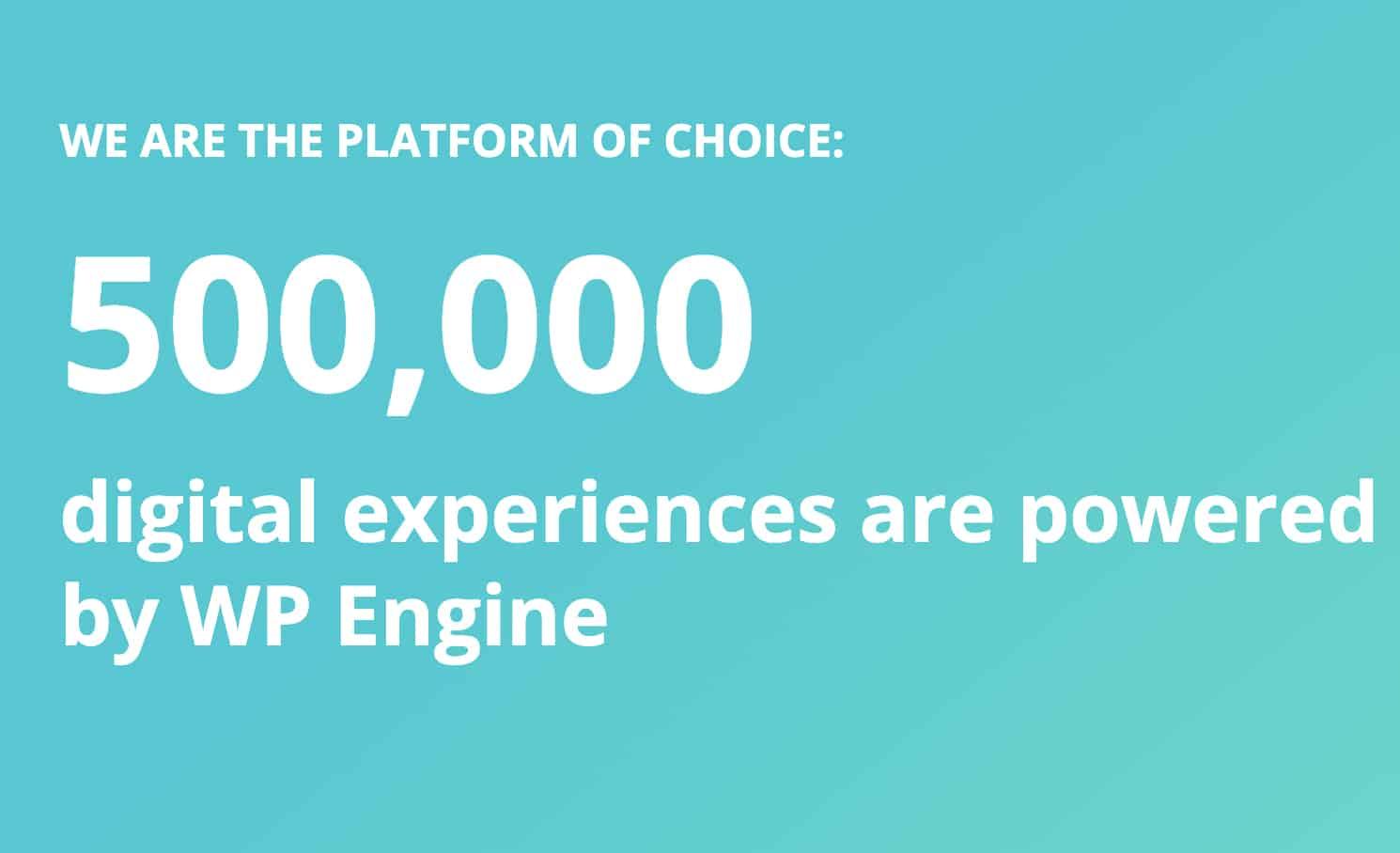 WP Engine, Premium WordPress Hosting